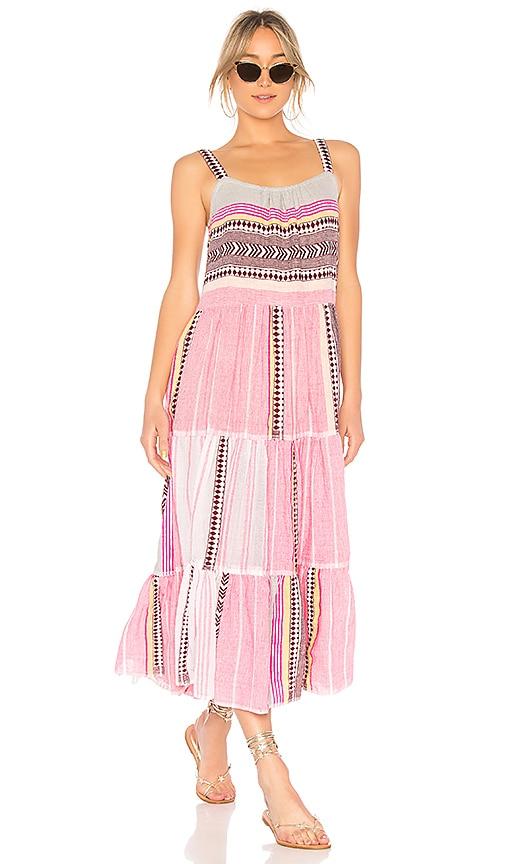 Lemlem Luchia Cascade Dress in Pink