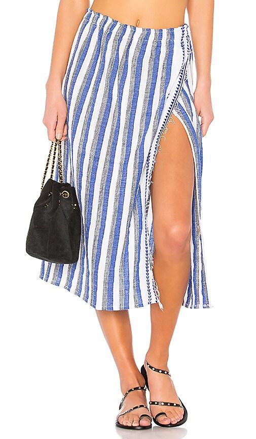 Lemlem Lulu Skirt in Blue