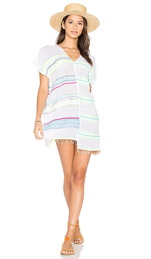 Lemlem Hayat Split Tunic in White