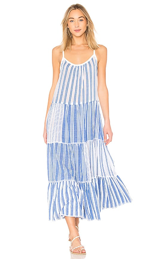 Lemlem Alfie Slip Dress in Blue