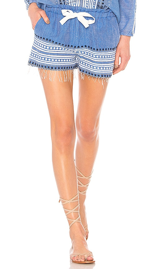 Lemlem Izara Short in Blue