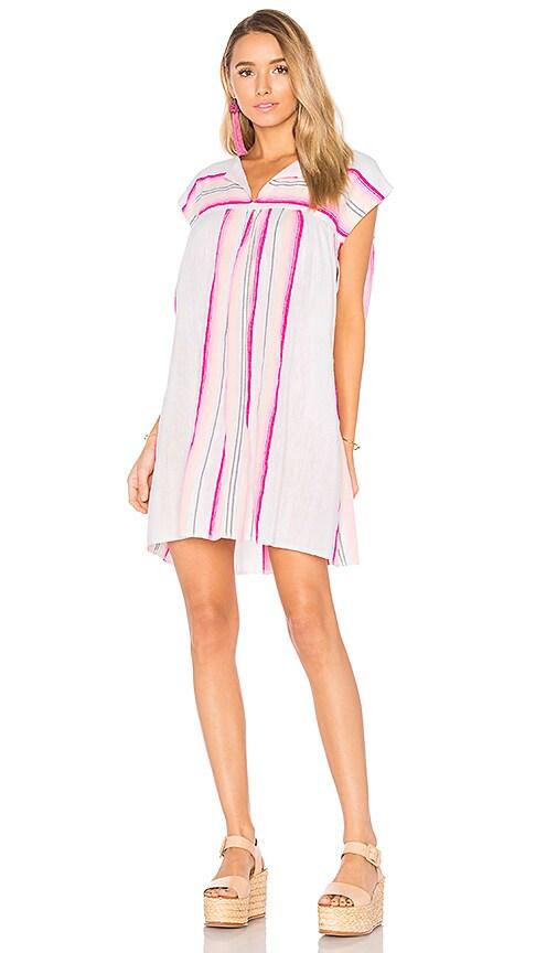 Lemlem Elsi Mini Dress in Pink