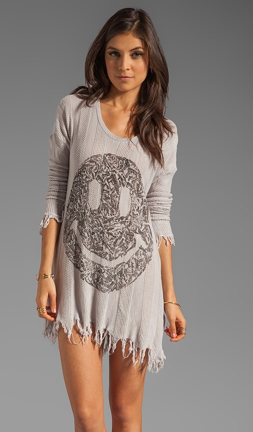 Gretta Gun Happy Face Sweater Dress