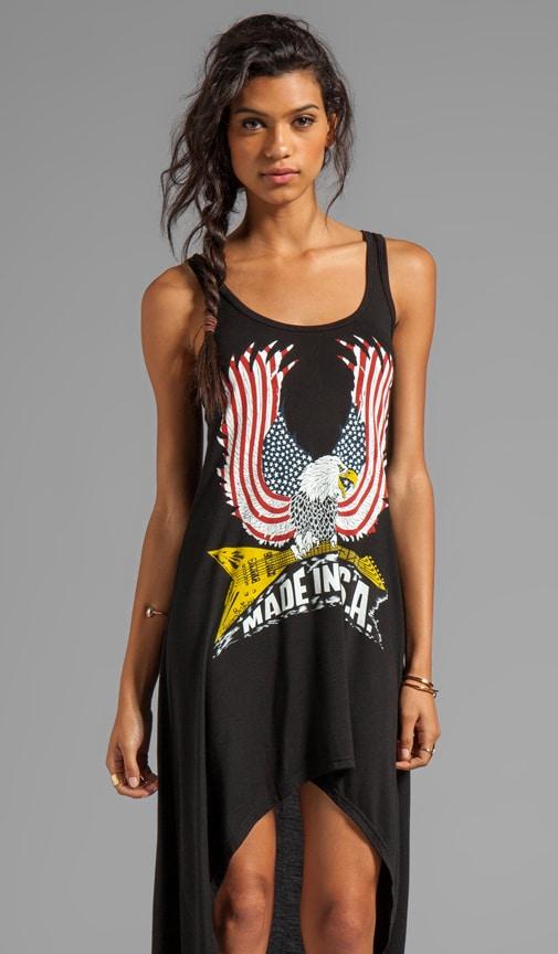 Платье Daria Color USA Eagle с асимметричным подолом