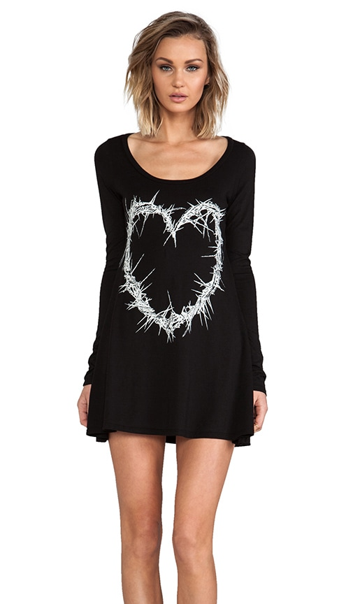 Fiona Thorn Heart Shirt Dress