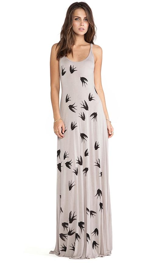 Lex All Over Birds Dress