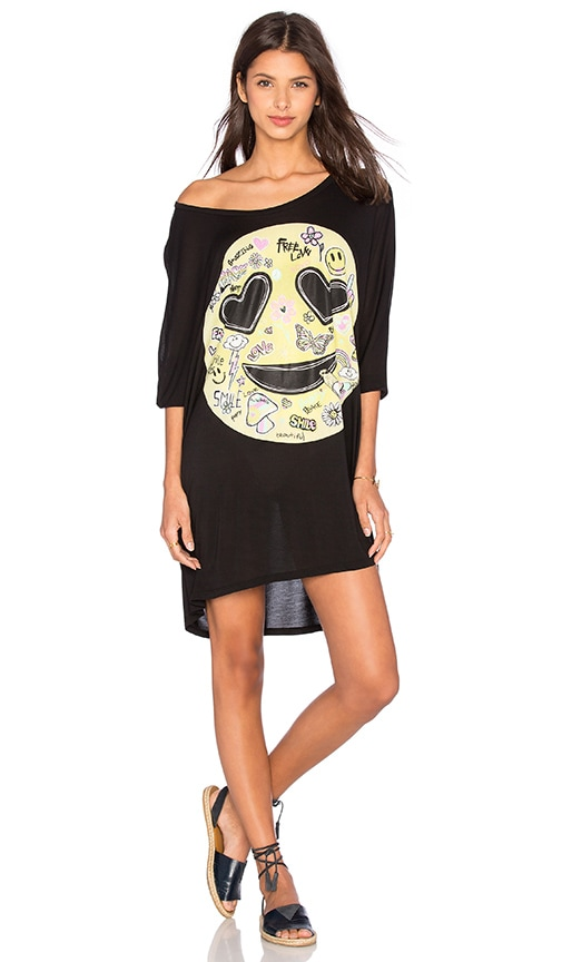 Milly Oversized Dress in Black Lauren Moshi Sale Shop Offer With Paypal Free Shipping Great Deals Cheap Online Fashion Style Cheap Price SydibkARP