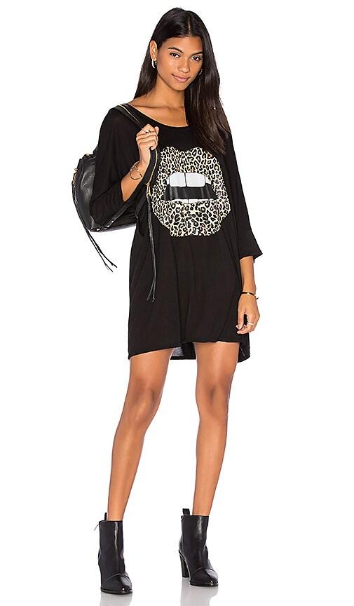 Lauren Moshi Milly Oversized Dress in Black