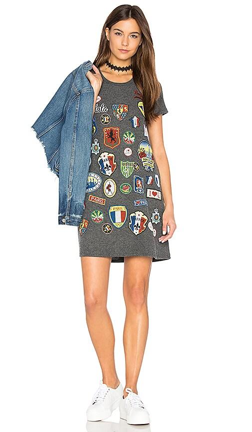 Lauren Moshi Lana T-Shirt Dress in Black