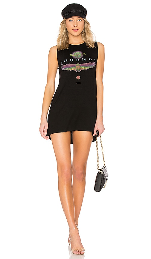 Lauren Moshi Deanna Sleeveless Dress in Black