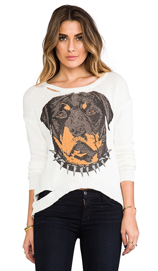 Jewel Large Color Rot Head Sweater