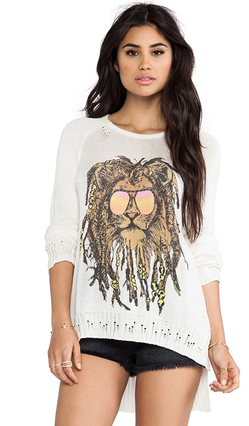 Helena Rasta Lion Sweater