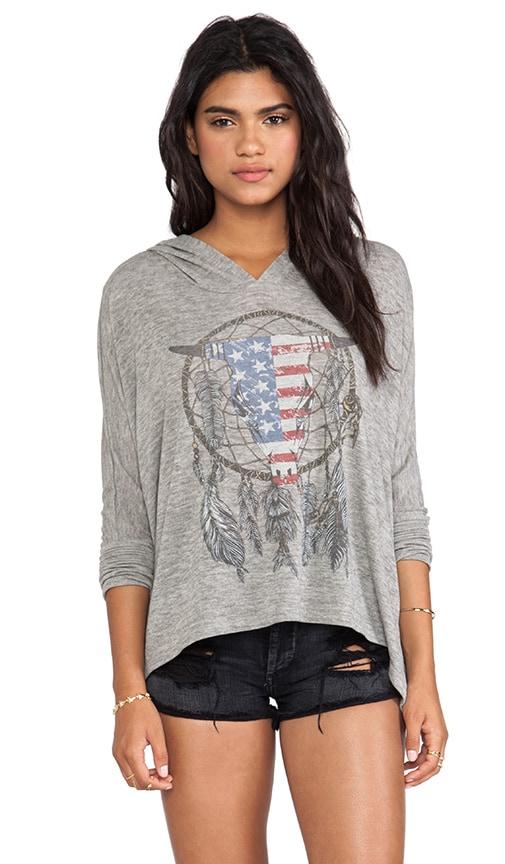 Wilma Flag Bull Hoodie Sweater