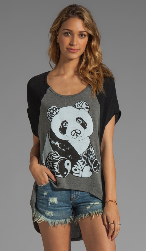 Betsy 2 Color Luv Panda Sweater
