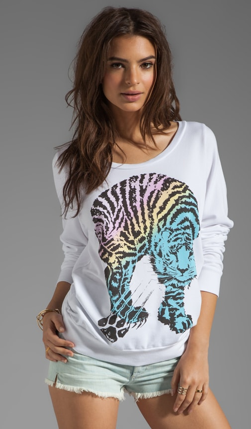 Jet Color Tiger Sweatshirt