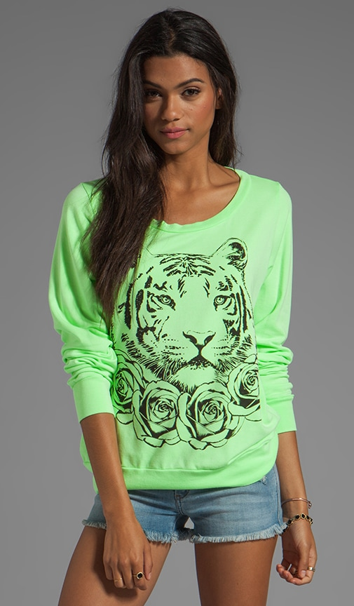Jet Rose Tiger Sweatshirt