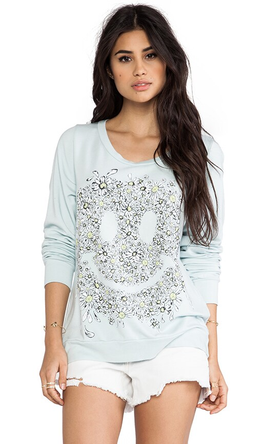 Jet Daisy Face Sweatshirt