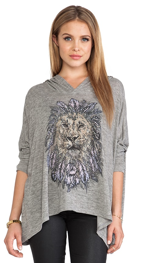 Wilma Feather Lion Hoodie