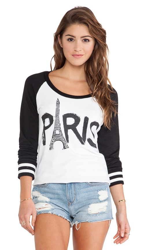 Addy Paris Tower Raglan Pullover