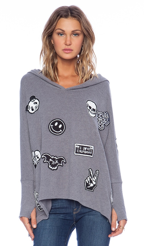 Wilma Oversized Pullover with Hood