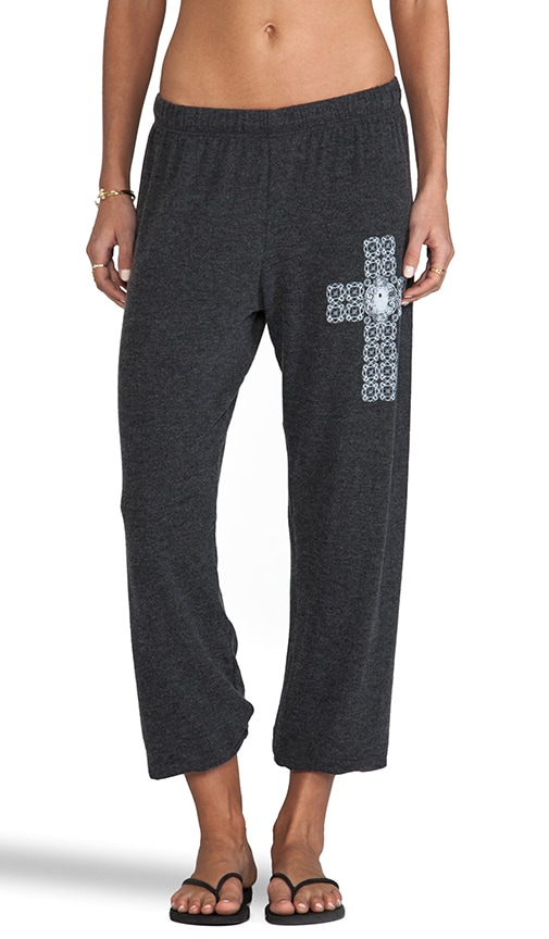 Tansy Small Diamond Cross Sweatpants