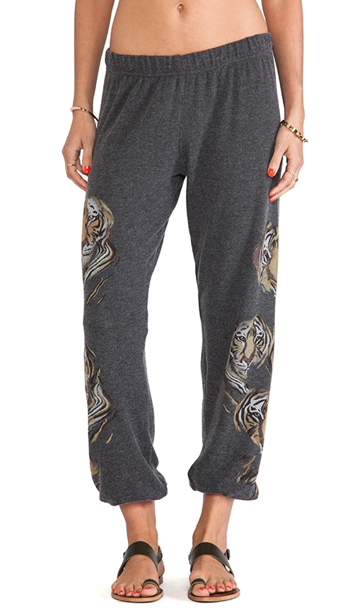 Tanzy Color Tiger Head Leg Pant