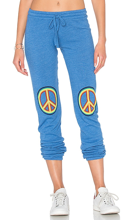 Lauren Moshi Willow Classic Sweatpant in Blue
