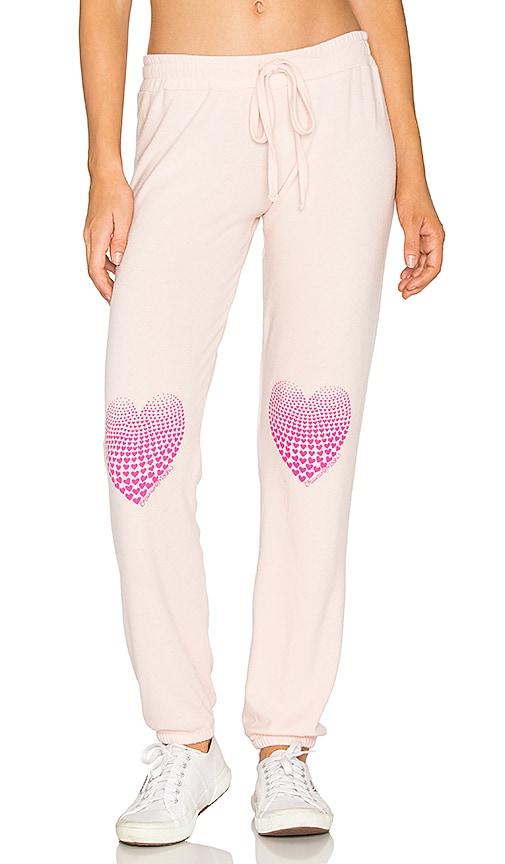 Lauren Moshi Willow Sweatpant in Pink
