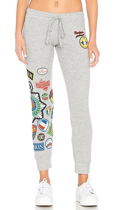 Lauren Moshi Kizzy Sweatpant in Gray