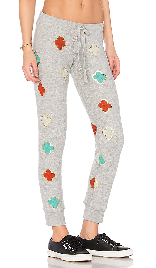 Lauren Moshi Kizzy Classic Sweatpant in Gray