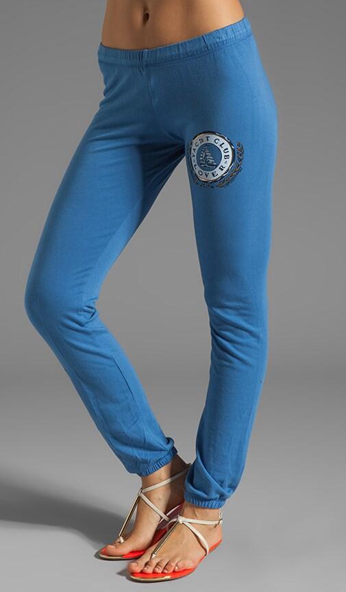 Demi Color Yacht Club Leg Sweatpants
