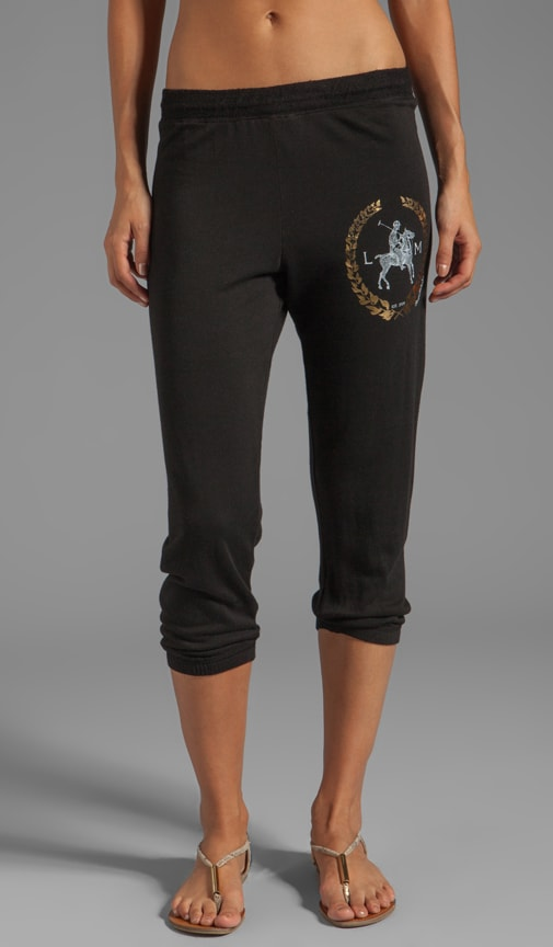 Birdy Foil LM Crest Crop Sweat Pant