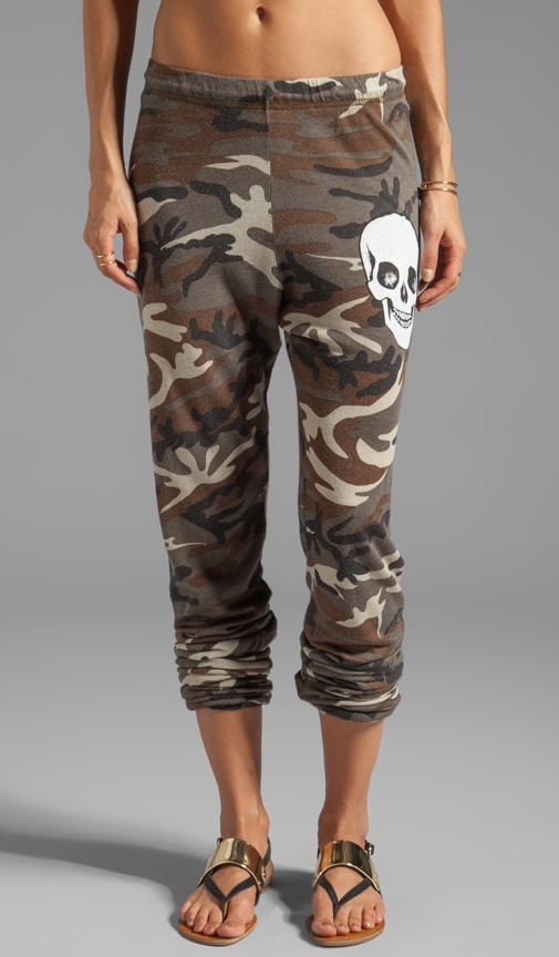 Tanzy Small Skull Face Pants
