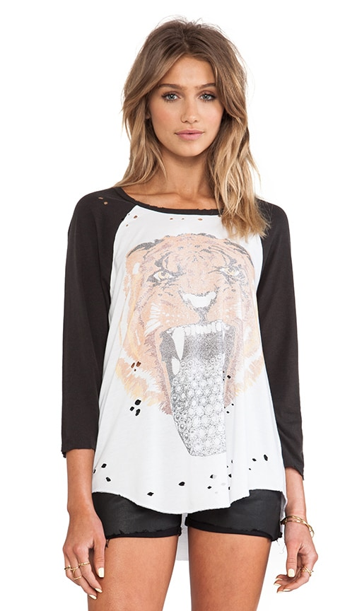 Maglan Tongue Wildcat Raglan