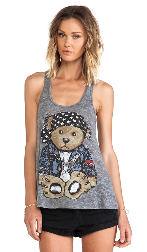 Nancy Color Rocker Teddy Tank