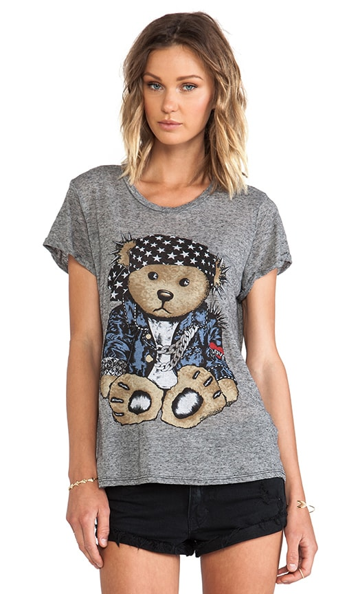Edda Color Rocker Teddy Vintage Tee