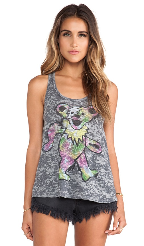 Nancy Tie Dye Bear Tank