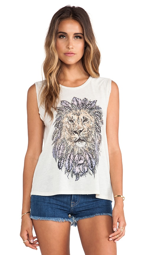 Riley Feather Lion Tank