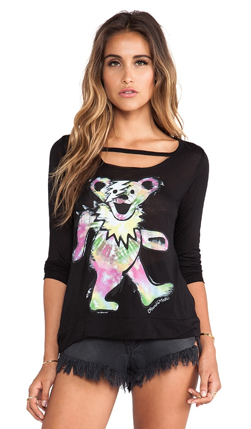 Logan Tie Dye Bear Top