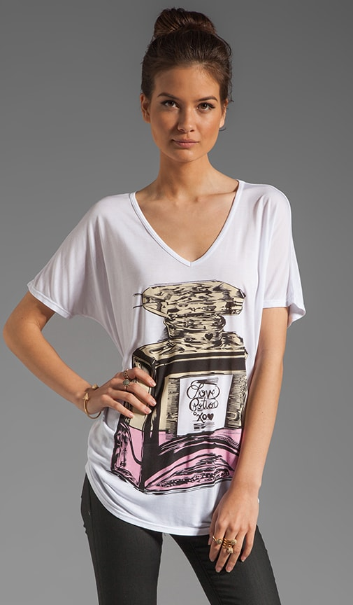 April Color Love Potion Oversized Tee