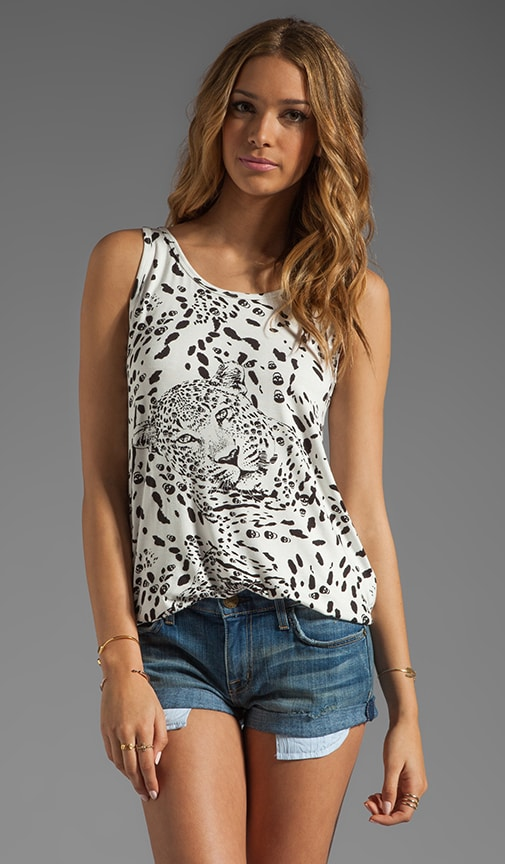 Claire Leopard Repeat Tank