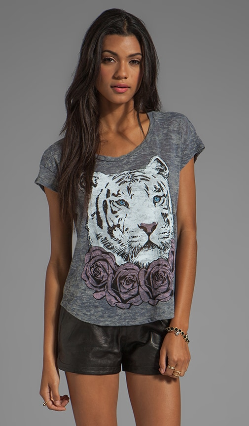 Audrey Color Rose Tiger Tee