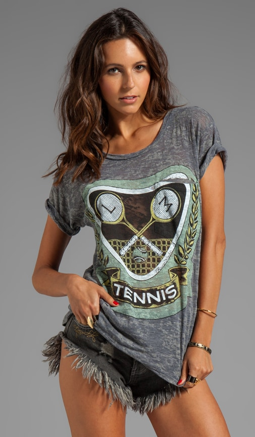 Debbie Green Color Tennis Pocket Tee