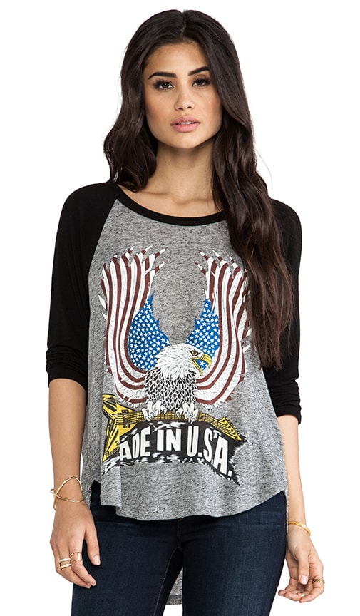 Drew Color USA Eagle Draped Raglan