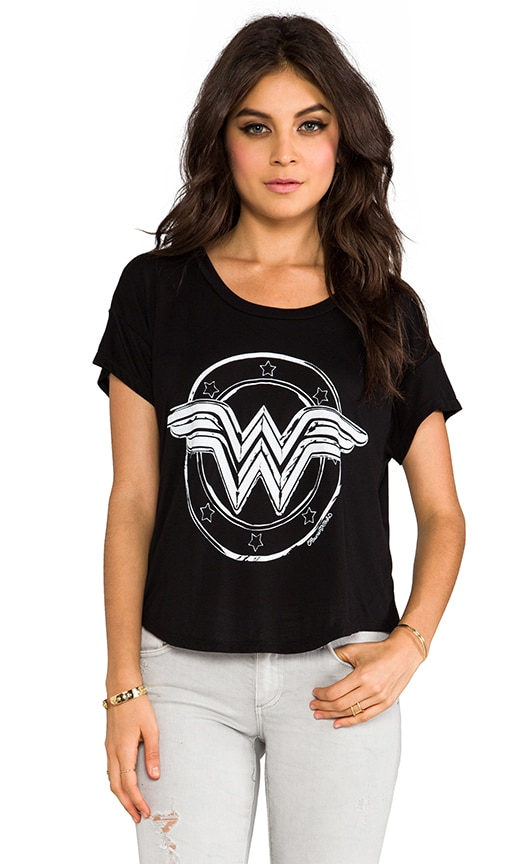Audrey Wonder Women Scoop Tee