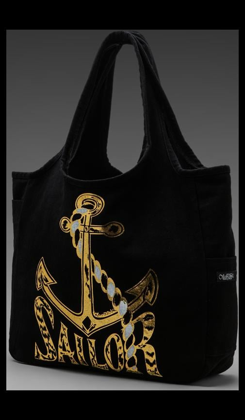 Taylor Foil Sailor Tote Bag