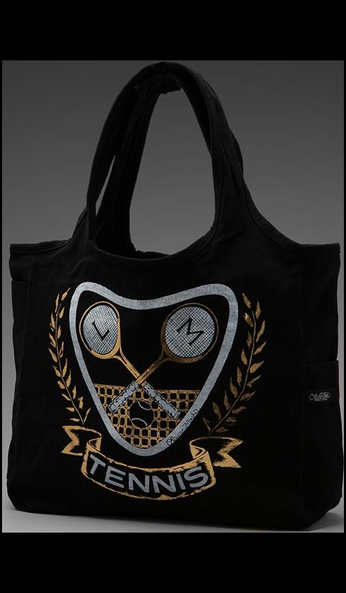 Taylor Foil Tennis Tote Bag
