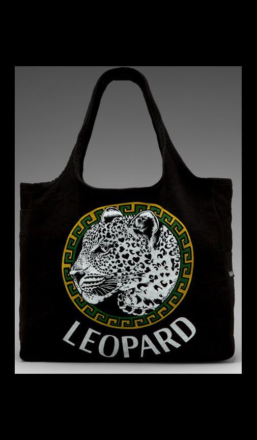 Taylor Color Leopard Medallion Tote