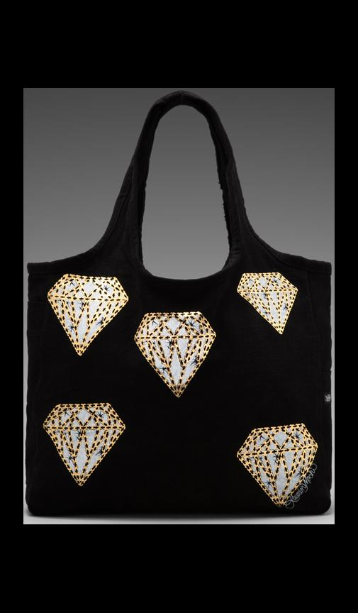 Taylor Mini Diamonds Canvas Tote