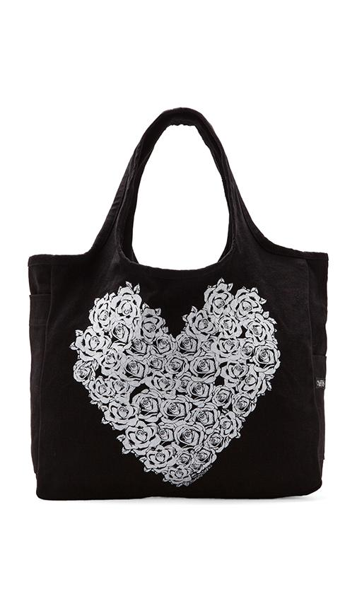 Taylor Rose Heart Tote